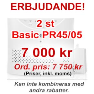 Erbjudande - 2 st Basic PR45/05