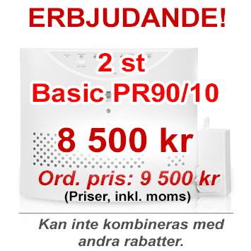 Erbjudande - 2 st Basic PR90/10